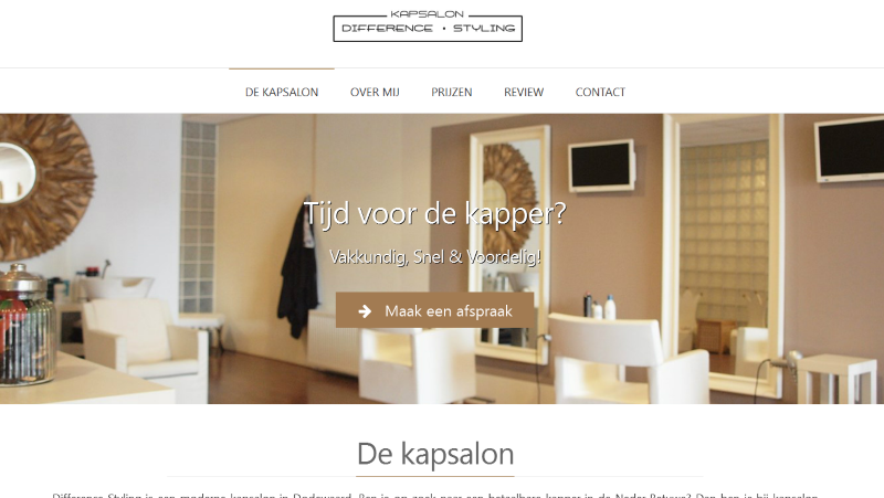 Kapsalon Difference Styling